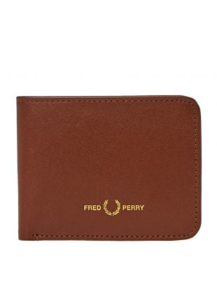 Fred Perry Billfold Wallet | L8278 C55 TAN | Aphrodite