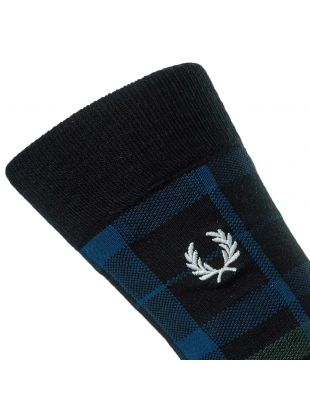 Socks - Ivy Green / Blue