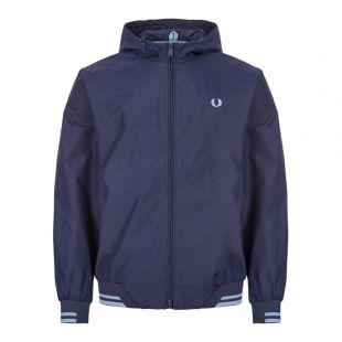 Fred Perry Sports Jacket J7500|266 In Carbon Blue At Aphrodite Clothing