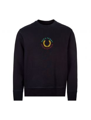 Fred Perry Sweatshirt Global Branded | M8602 608 Navy | Aphrodite1994