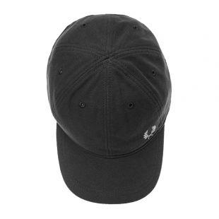 Pique Cap - Black