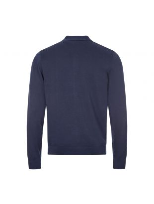 Knitted Polo - Dark Carbon