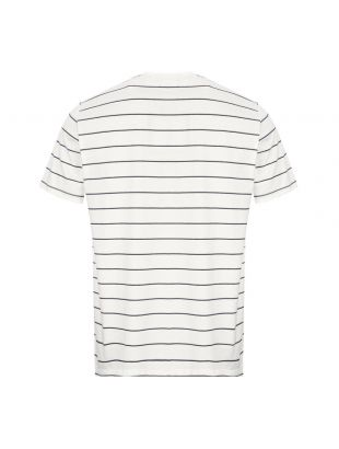 T-Shirt Stripe - Snow White
