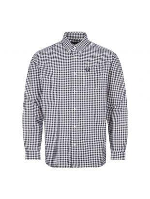 Shirt Gingham - Carbon Blue