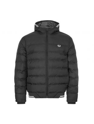 Fred Perry Jacket Hooded | J9535 102 Black