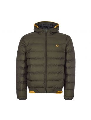 Fred Perry Jacket Hooded | J9535 408 Hunting Green