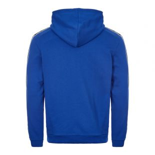 Taped Hoodie - Regal Blue