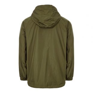 Jacket Ripstop Half-Zip - Dark Thorn Green