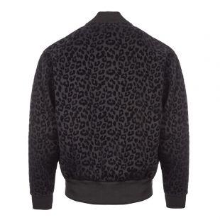 Miles Kane Track Jacket – Leopard Black