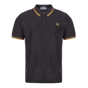 Fred Perry Miles Kane Polo Shirt | SM7013 102 Black