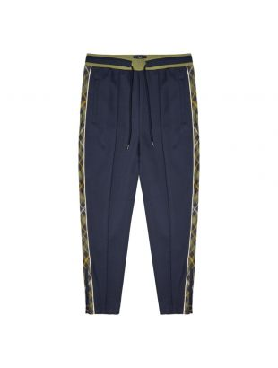 Fred Perry x Nicholas Daley Track Pants | ST9010 F36 Shaded Navy / Tartan