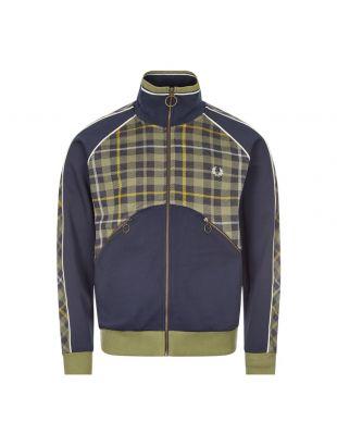 Fred Perry x Nicholas Daley Track Jacket | SJ9003 F36 Shaded Navy / Tartan