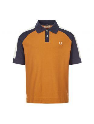 Fred Perry x Nicholas Daley Polo Shirt | SM9007 C43 Gold Leaf
