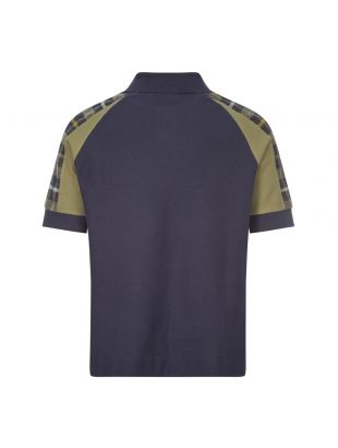 Nicholas Daley Polo Shirt - Navy / Tartan