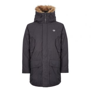 Fred Perry Parka | J7514 102 Black