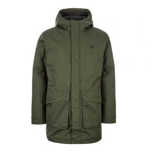 Fred Perry Jacket Padded | J7513 408 Green