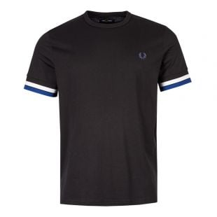 Fred Perry T-Shirt Bold Tipped M7539 102 Black
