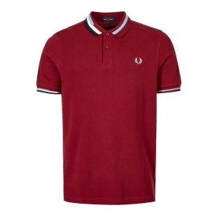 Fred Perry Polo Shirt | M7604 D31 Dark Red