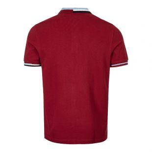 Polo Shirt – Dark Red