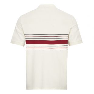 Collarless Polo Shirt - Ecru