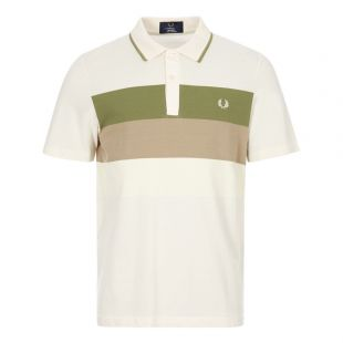 Polo Shirt Stripe - Ecru