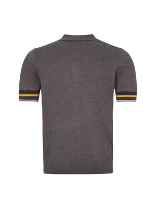 Polo Shirt Knitted - Grey