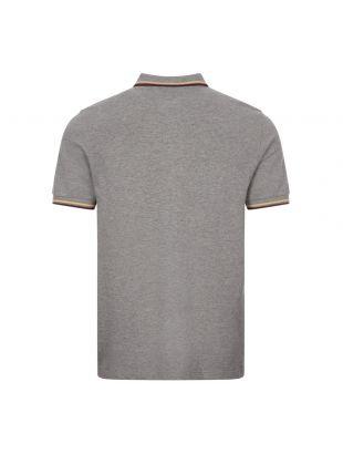 Polo Shirt Twin Tipped - Grey Marl