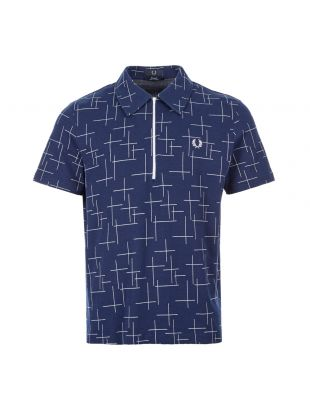 Fred Perry Polo Shirt | M8803 143 French Navy