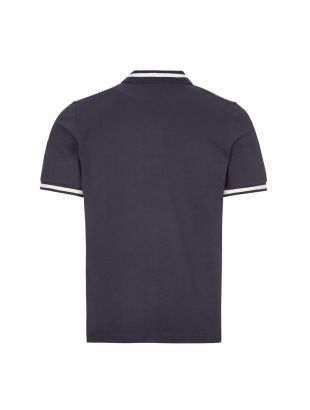 Polo Shirt Single Tipped - Navy