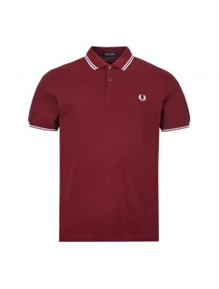 Fred Perry Polo Shirt Twin Tipped | M3600 122 Port