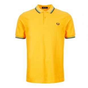 Fred Perry Twin Tipped Polo Shirt | M3600 J20 Modern Yellow