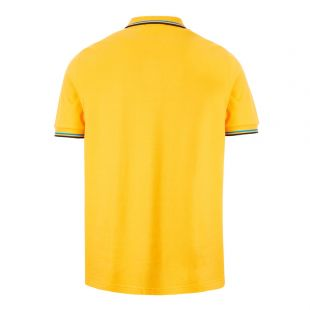 Twin Tipped Polo Shirt - Modern Yellow