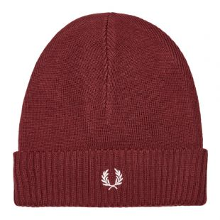 Fred Perry Beanie | C7142 D33 Stadium Red