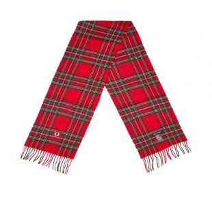 Royal Stewart Tartan Scarf - Red