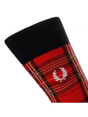 Socks - Red Tartan
