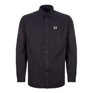 shirt brushed cotton M7591 102 black