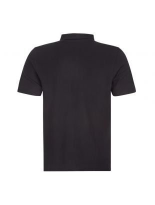 Polo Shirt Button Down - Black