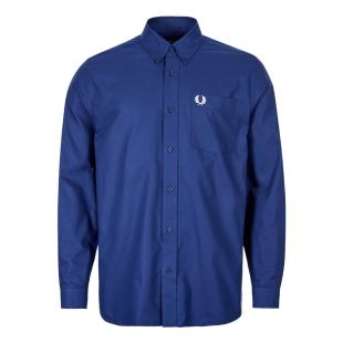 Fred Perry Shirt | M7550 126 Medieval Blue