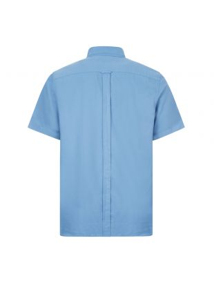 Short Sleeve Shirt Overdyed - Riviera Blue