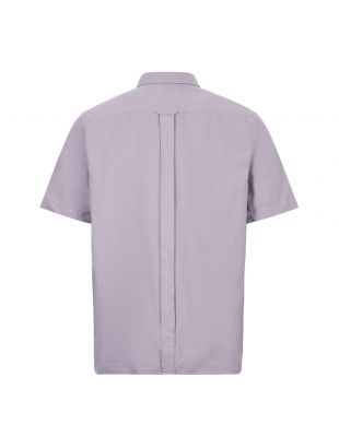 Short Sleeve Shirt Overdyed - Lavendar Ash