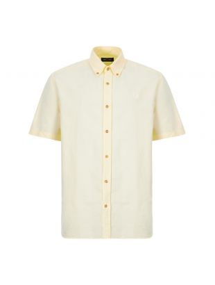 Short Sleeve Shirt Overdyed - Butter Icing