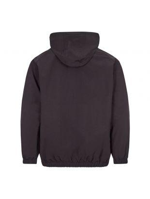Half-Zip Shell Jacket - Black