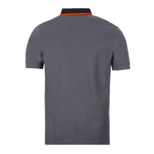 Polo Shirt Tipped – Charcoal
