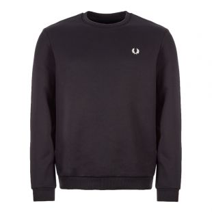Fred Perry Brushed Sweatshirt | M7588 102 Black