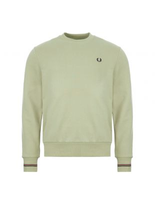 fred perry sweatshirt M7535 J82, green