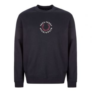 fred perry sweatshirt M7610 608 navy