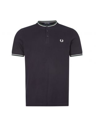 fred perry t-shirt henley M9600 608 navy