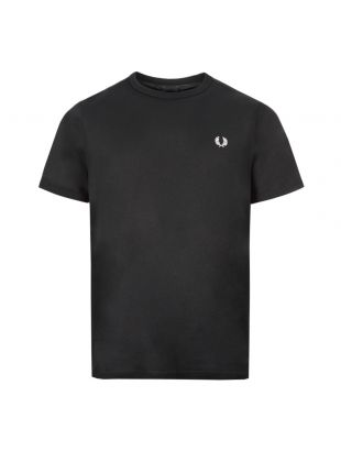 Fred Perry Ringer T-Shirt | M3519 Black| Aphrodite 1994