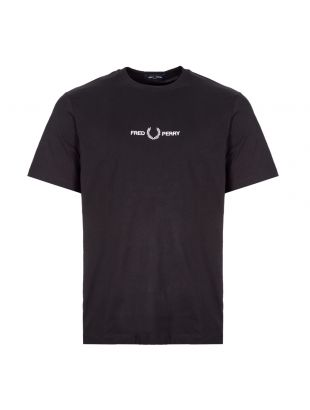 fred perry t-shirt M8621 102 black