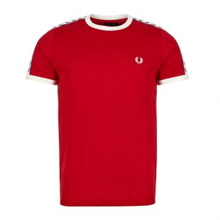 Fred Perry T-Shirt | M6347 I56 Siren / Red